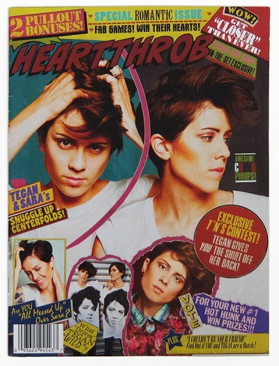 Tegan And Sara HEARTTHROB magazine