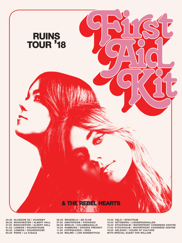 First Aid Kit tour poster