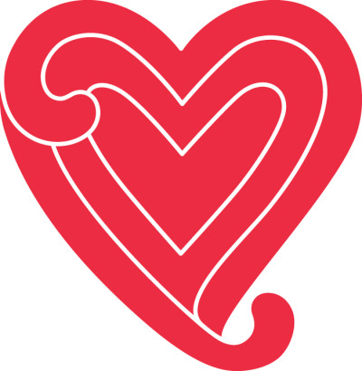 First Aid Kit heart logo